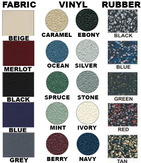Colors for Enclosed Bulletin Boards
