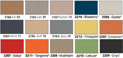 Unframed Forbo Panes Colored Tack Boards