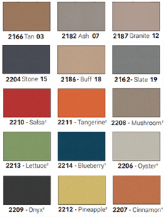 Forbo Bulletin Board Colors