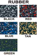 Rubber Tack Swatches