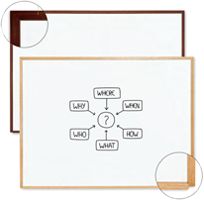 Wood Framed Dry Erase Boards