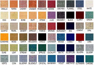 Burlap Fabric Colors