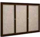 Enclosed Fabric Cork Boards