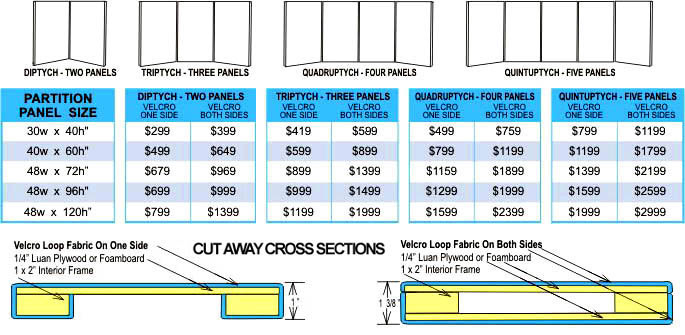 Folding Room Partition Pricing