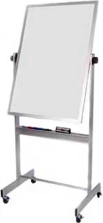 Deluxe Rolling Dry Erase Marker Board - 30 x 40 Inches