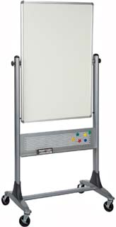Reversible Rolling Dry Erdase Marker Board - 30 x 40 Inches